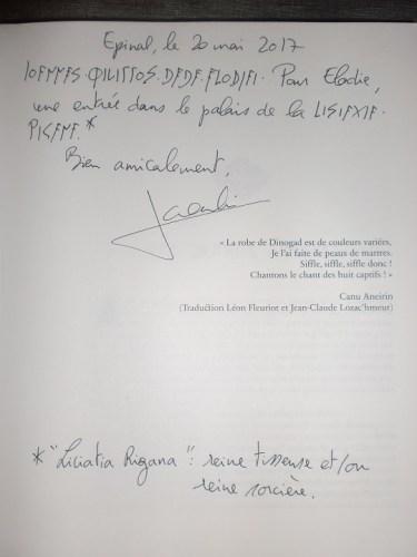 Dédicace 6 - Jean-Philippe Jaworski