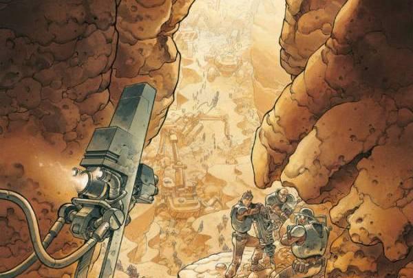 On Mars, tome 1 : Un nouveau monde