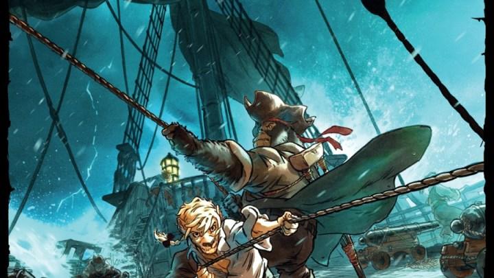 Jim Hawkins, tome 2 : Sombres héros de la mer