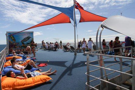 Sunlover reef cruise, Moore Reef