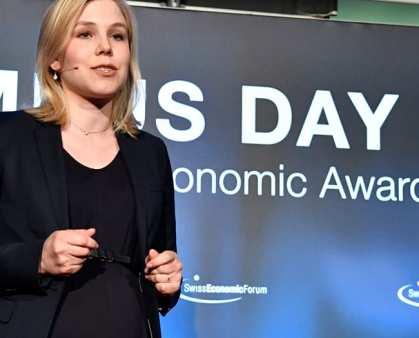Le Bijou schafft es auf am Swiss Econocmic Forum  verliehenen Swiss Economic Award unter die Top 5 im Bereich Dienstleistung - Le Bijou HRM AG