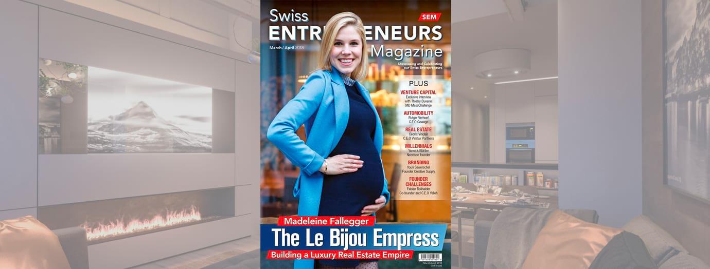 Madeleine Fallegger, Le Bijou im Interview mit dem Swiss Entrepreneurs Magazin