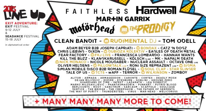 Exit festival / Tous droits réservés
