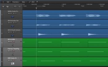 TriplePlay vs. GR-55 vs. MIDI Guitar 64 vs. D.I.