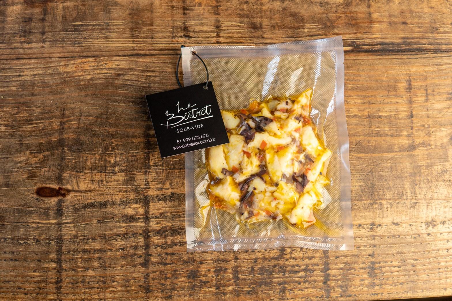 Batatas migadas sous-vide