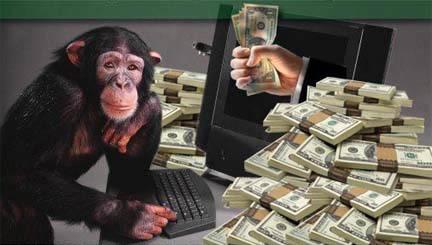 On fait de la monkey money et les sale jaloux de merde nous envient