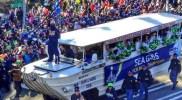 La parade des Seahawks