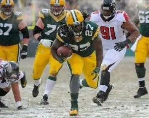 Packers-Falcons-Snow