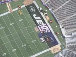 Les Jets et les Giants qui se partagent le Metlife Staidium