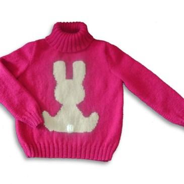 Tuto : le pull lapin pour enfant