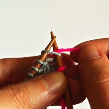 Apprendre à tricoter 3 – La maille endroit