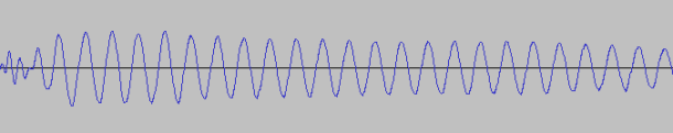 Une sinusoïde chez fab3