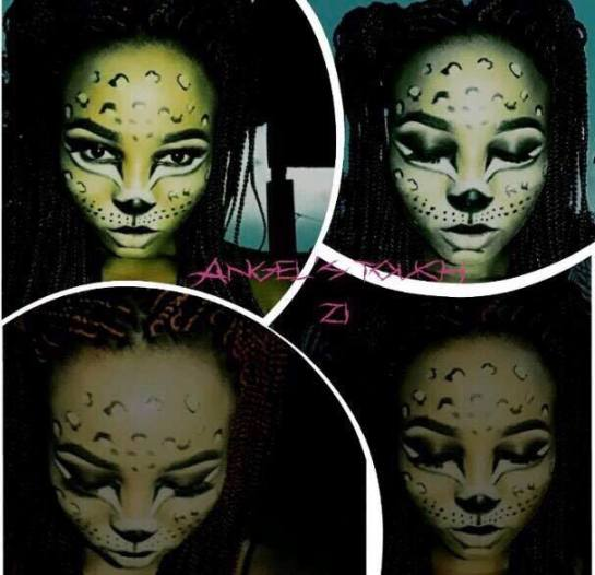 maquillage thème animalier