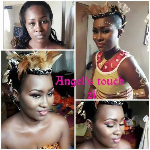 Make-up mariage traditionnel