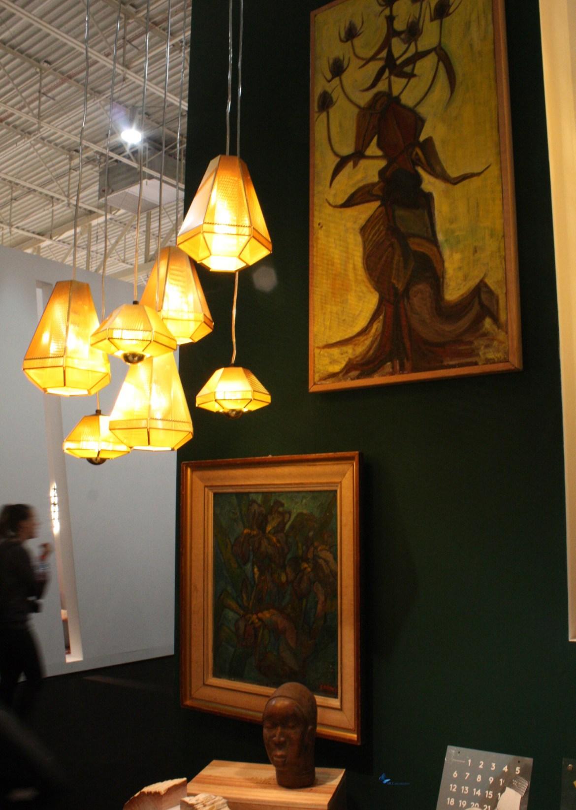 luminaires pyramides Tom Dixon