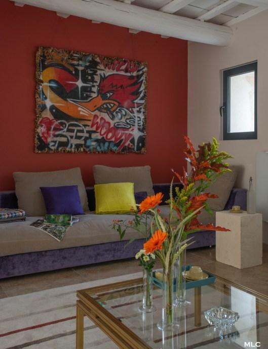 salon-orange-canapé-bicolore-mlc-design
