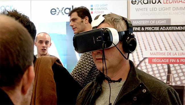Réalité virtuelle au SATIS 2015