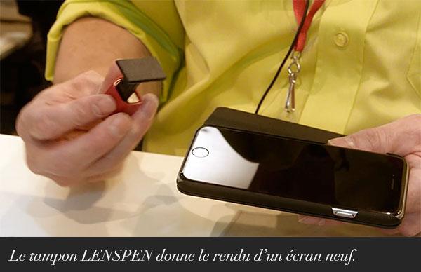 Nettoyer votre smartphone avec LENSPEN.