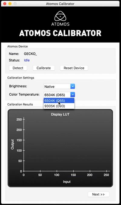 Comment calibrer votre écran d'enregistreur Atomos.