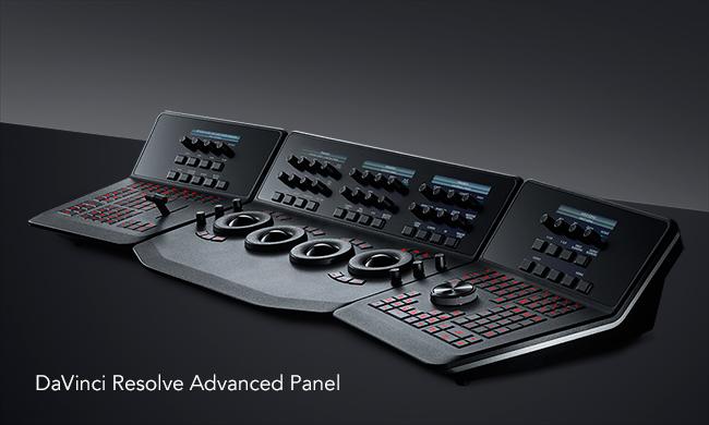 DaVinci Resolve Advanced Panel.