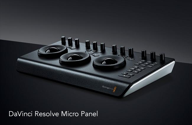 DaVinci Resolve Micro Panel.