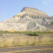 montagnes désert Utah