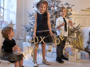 sélection tenues de fêtes enfants
