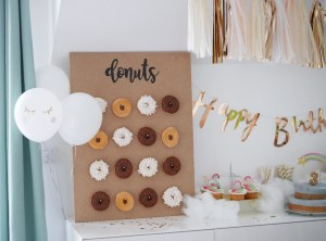 BAR A DONUTS DIY