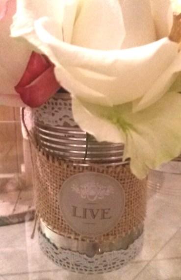 vase conserve fleurs customisation
