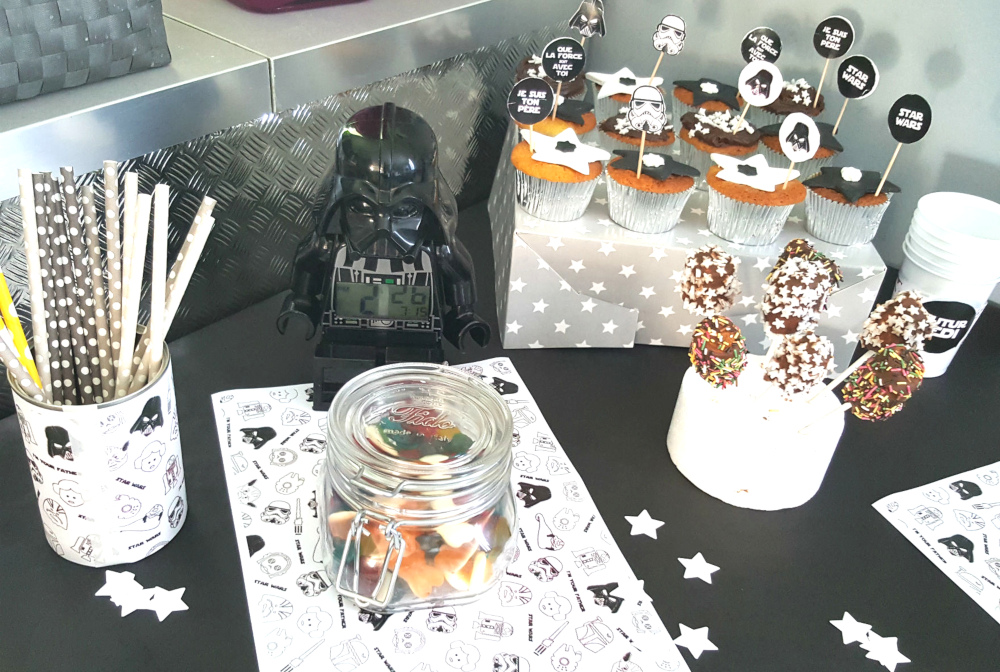 Un anniversaire Star Wars intergalactique