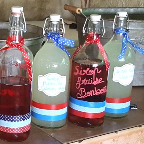 bouteilles guinguette