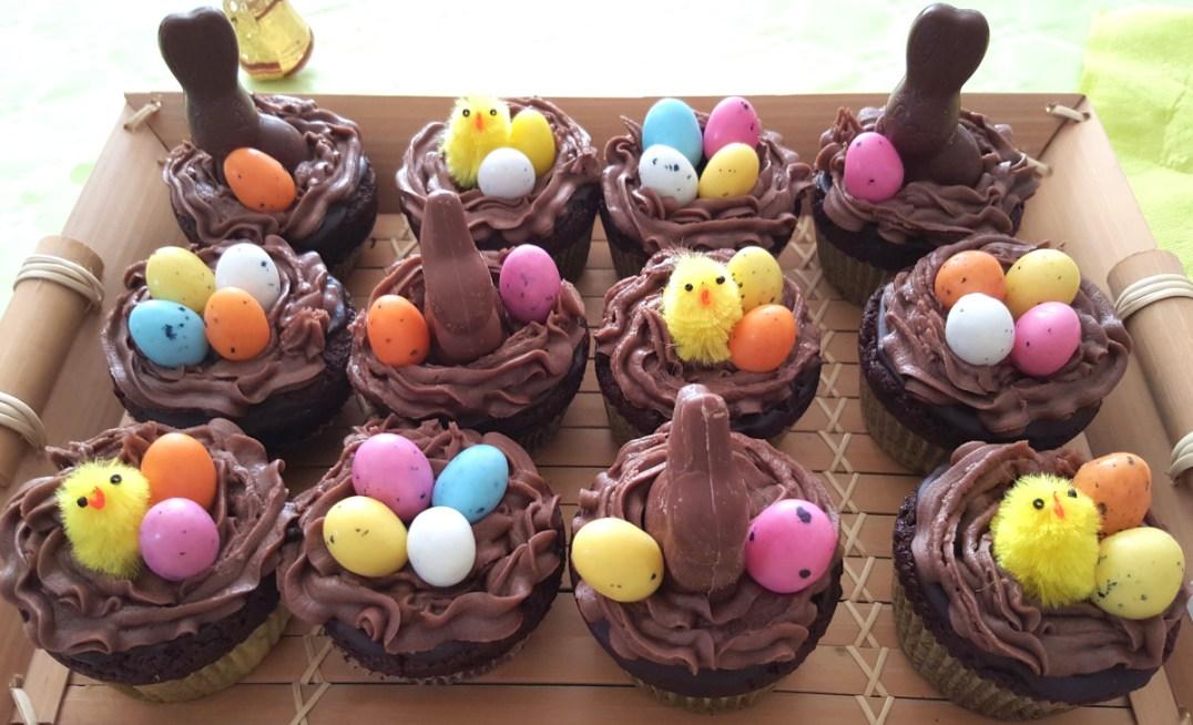 cupcake pâques plateau