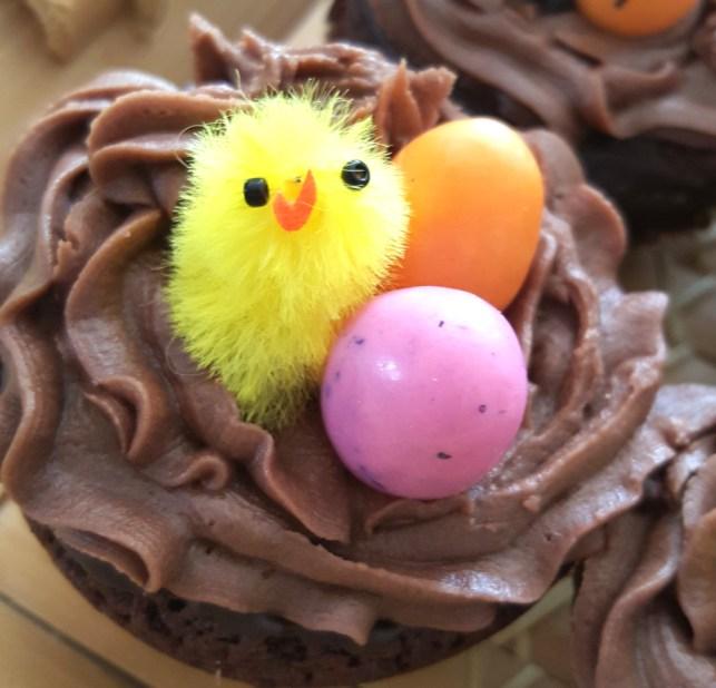 cupcake poussins