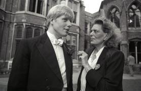 Boris Johnson Oxford Union avec Melina Mercouri