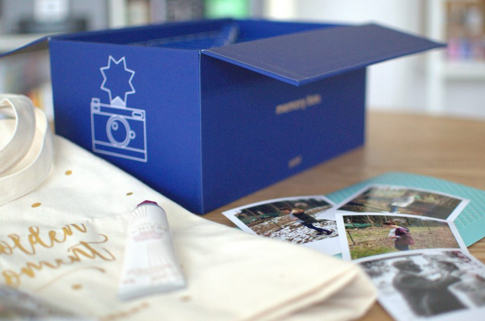 cheerz l'occitane memory box