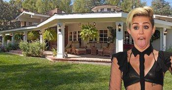 maison de Miley Cyrus