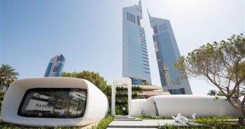 bureaux imprimés en 3D Dubai