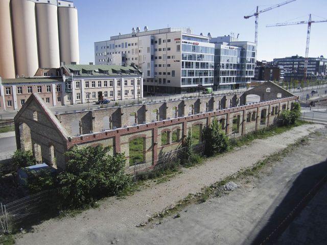 Malmö Saluhall immeuble abandonné