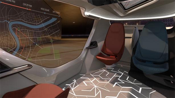 NEVS InMotion – Une voiture autonome très futuriste