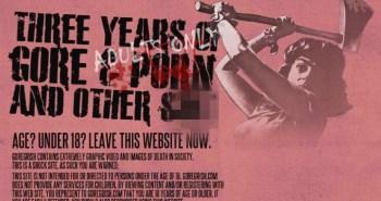 GoreGrish - L'apologie du meurtre, du viol et du gore sur internet