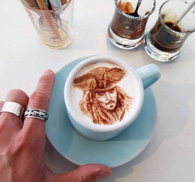Lee Kang-Bin le barista crée de véritables œuvres d'art dans votre café