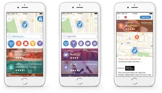 Meilleures applications pour visiter les villes: Sidekix