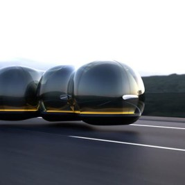 Yuchen Cai concept car futuriste Renault