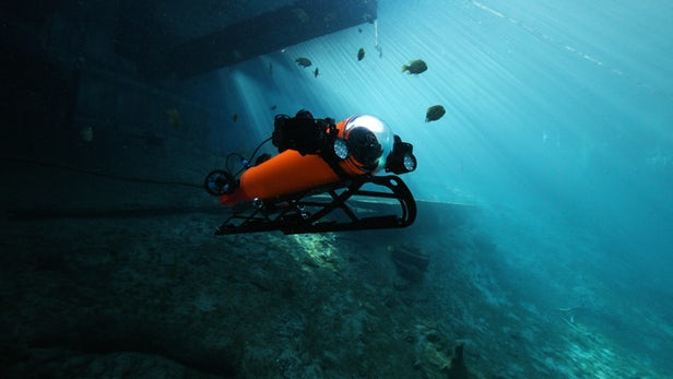Aquabotix dévoile un nouveau robot sous-marin deux en un