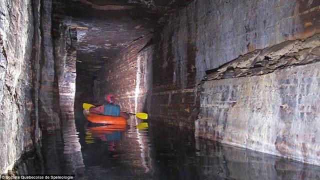 nouveaux réseaux de grottes glaciaires Montréal