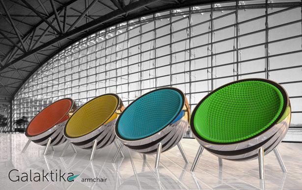 Galaktika Armchair – Un fauteuil multifonctionnel design pour les salons VIP de l'aéroport 4