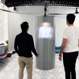 TeleHuman 2 - Les hologrammes 3D grandeur nature sont-ils le futur de la vidéoconférence
