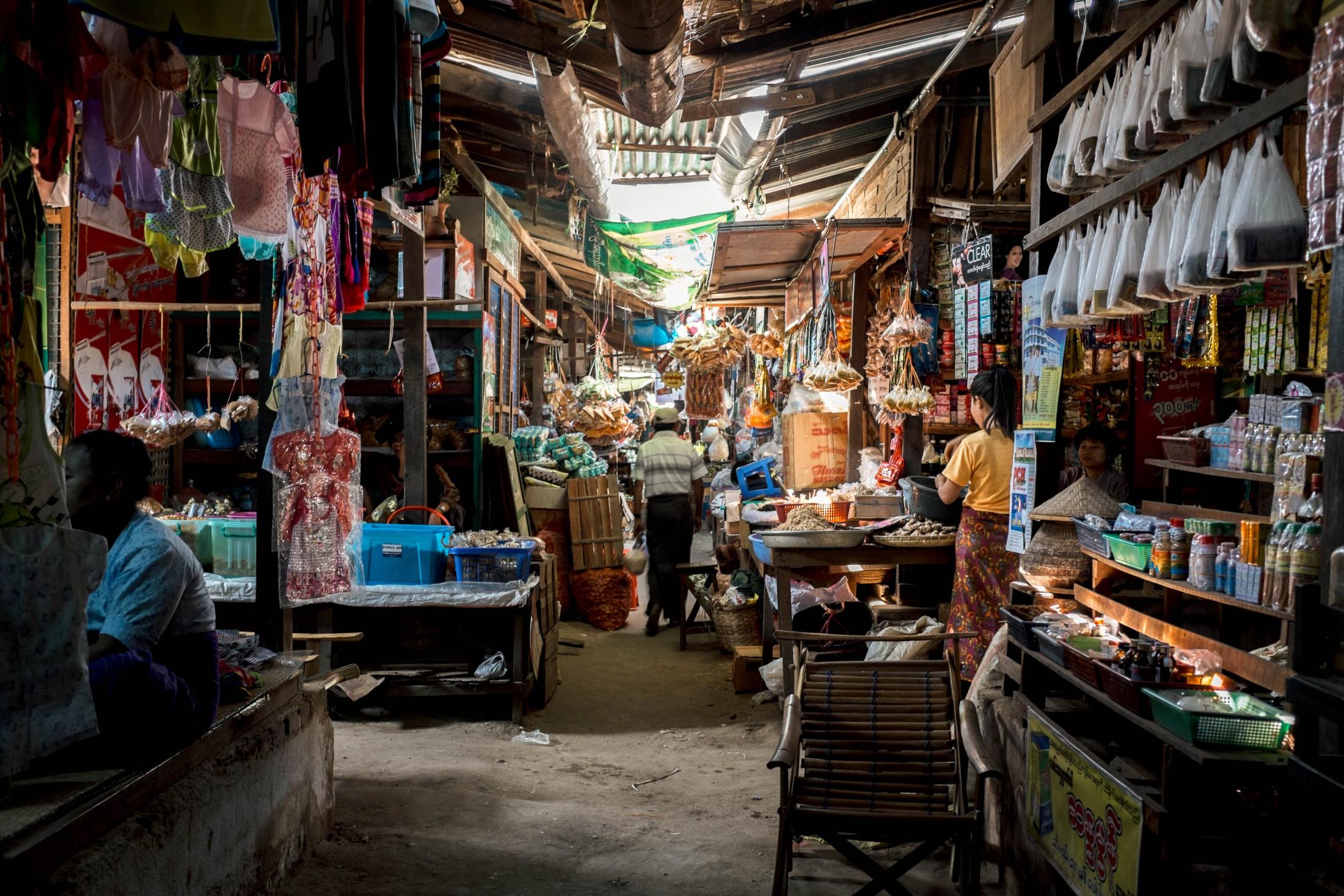 Mani Sithu Market, Myanmar