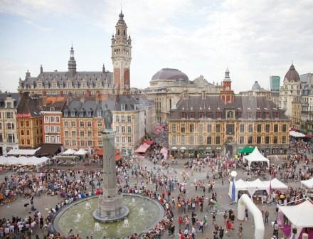 Festa em Lille