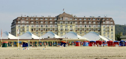 O Hotel Royal Barriere em Deauville